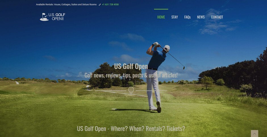 US Golf Open