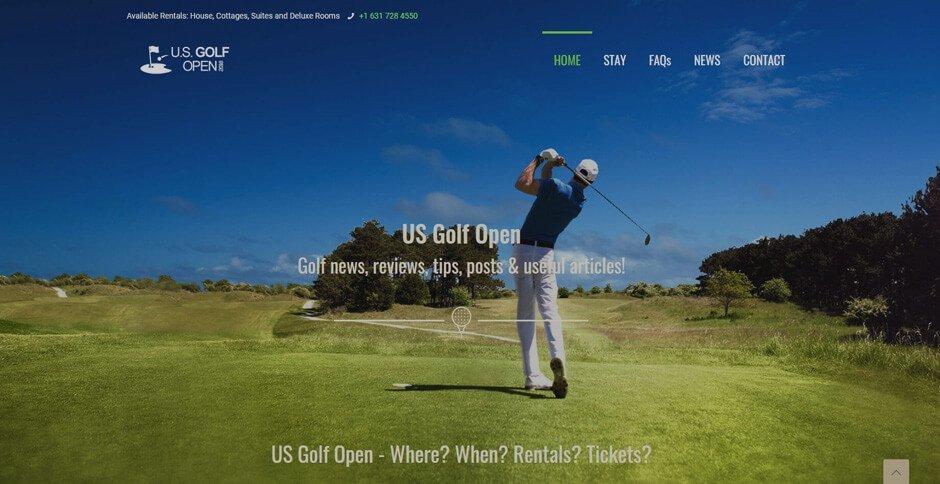 US Golf Open